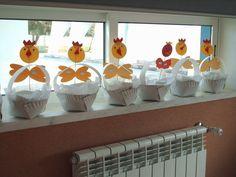 Velikonoční košíček z talíře