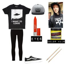 Untitled #71 by suicidereadergirl on Polyvore featuring polyvore fashion style Frame Vans Revlon clothing
