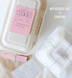 pretty little packaging :: branding inspiration for your biz :: laura winslow photography Cookie Packaging, Gift Packaging, Packaging Design, Packaging Ideas, Product Packaging, Wrapping Ideas, Gift Wrapping, Client Gifts, Service Projects