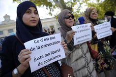 Five women wearing the Islamic headscarf have been prevented from entering a nursery school in Corsica by other parents, local media report. State School, Religious Symbols, Nursery School, Image Caption, France, Corsica, Muslim Women, Yolo, Human Rights