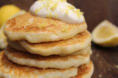 Lemon and Yoghurt Pancakes