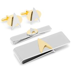 Star Trek: Star Trek Two-Tone Delta Shield 3-Piece Gift Set