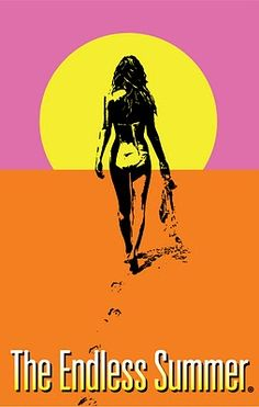 The Endless Summer - repro poster