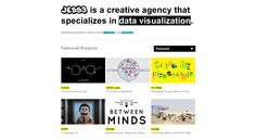"""JESS3. """"@JESS3  We are a creative agency that specializes in data visualization and visual storytelling. We are expanding, join us! http://jess3.com/careers/""""    An agency kicking ass because they specialize and are riding the big data wave."""
