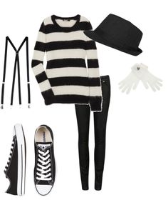 Mime! Totally my halloween costume next year