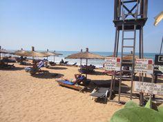Strand bij hotel Senegambia beach #Gambia