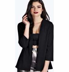 boohoo Collarless Blazer - black azz15077 Breathe life into your new season layering with the latest coats and jackets from boohoo. Supersize your silhouette in a puffa jacket, stick to sporty styling with a bomber, or protect yourself from t http://www.comparestoreprices.co.uk/womens-clothes/boohoo-collarless-blazer--black-azz15077.asp