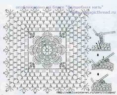 Vintage Crochet Pattern Charts - found via Pinterest. Description from pinterest.com. I searched for this on bing.com/images