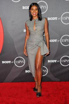 Gabrielle Union proves showing a little leg never hurt anyone!   Essence.com