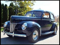 1940 Ford Deluxe Tudor  The car we had when I was little... Got my hand shut in the door on Easter Sunday, when I was 6 and got 6 stitches on my right hand from it. Mom thought I was all in...