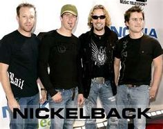 Nickelback. See them in June