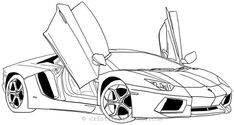 Coloring Pages Lamborghini Free - Printable Coloring Pages To Print Coloring Sheets For Boys, Race Car Coloring Pages, Sports Coloring Pages, Boy Coloring, Disney Coloring Pages, Coloring Pages To Print, Free Printable Coloring Pages, Free Coloring Pages, Coloring Books