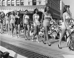 George Tate, Beauty Pageant, Venice, California, c. 1960