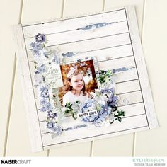 Swooning over this adorable Wandering Ivy layout by the extremely talented Swipe to see more gorgeous details! Scrapbook Albums, Scrapbooking Layouts, Layout Inspiration, Ink Pads, Clear Stamps, Happy Day, Color Splash, Ivy, Cardmaking