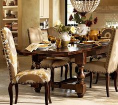 Cortona Extending Dining Table #potterybarn