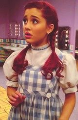 Ariana as Cat as Dorothy!