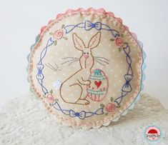 Pin Cushion...size it up and it would make an adorable baby pillow.