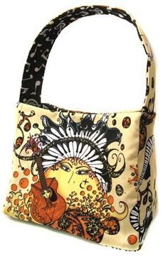 awesome little music themed handbag purse!  MUST SEE!!