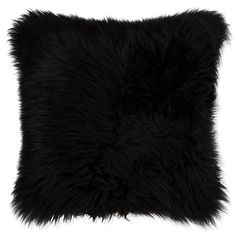 Black Throws, Black Throw Pillows, Fluffy Pillows, Throw Pillows Bed, Bedroom Cushions, Bed Throws, Throw Blankets, Fur Pillow, Pillow Set