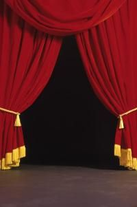movie theater curtains