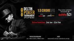 This New Year Gear Up for Deltin Poker Tournament Powered By Adda52 – February 2017 Edition