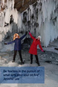 """""""Be fearless in the pursuit of what sets your soul on fire"""" - Jennifer Lee   Vapaa käännös: Etsi pelkäämättä sitä, mikä sytyttää palon sielussasi.  Hyvää tiistaita kaikille rohkeille ja elämän nälkäisille! Kuva Baikalin jäämassojen kyljestä.   #baikal #байкал #siberia #lakebaikal #baikallake #irkutsk #nature #baikalwater #иркутск #shamanism #kulttuurimatka #aktiiviloma #baikal #байкал #siberia #lakebaikal #baikallake #irkutsk #baikalwater #baikalpearl #travel #ice #jää #talvi  #smiles Painting, Painting Art, Paintings, Painted Canvas, Drawings"""
