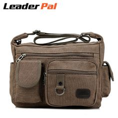 Check current price Men Women Travel Cross-body Messenger Bags Small Canvas Shoulder Bag Wear-resisting Work Bag just only $18.50 with free shipping worldwide  #crossbodybagsformen Plese click on picture to see our special price for you