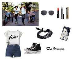 """""""The Vamps"""" by katemar ❤ liked on Polyvore featuring MANGO, ASOS, NARS Cosmetics, Converse, Dolce&Gabbana, women's clothing, women's fashion, women, female and woman"""