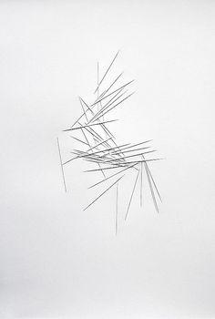 Franz Riedl | Mikado III, 2012 | paper relief                                                                                                                                                                                 Mehr