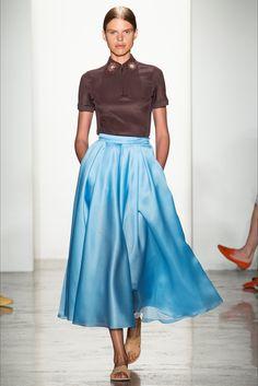 Sfilata Ostwald Helgason New York - Collezioni Primavera Estate 2015 - Vogue