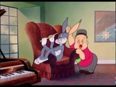 Bugs Bunny ft. Elmer Fudd - The Wabbit Who Came to Supper (1942) Classic…