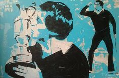 """""""Seve"""" 150cm x 100cm Acryl on Canvas"""