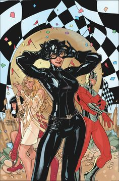 The new DC solicits have been uploaded. Check out the new CATWOMAN #30 cover by Terry and Rachel Dodson. Wow. http://comicartcommunity.com/gallery/search.php?search_new_images=1