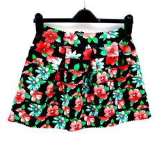Yu & Me Paris Skirt M/L Tulip Style Floral Mini Zip 40% Latex Summer Holidays Style Floral, Click Photo, Clothes For Sale, Tulip, My Ebay, Latex, Girl Outfits, Amp, Holidays