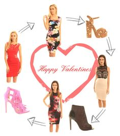 Happy Valentines by emeraldhoney on Polyvore featuring women's clothing, women's fashion, women, female, woman, misses and juniors