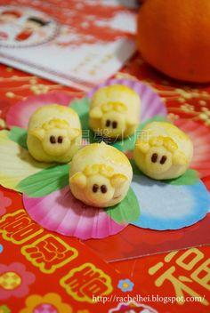 喜羊羊 の 黄梨饼 Pineapple Cookies