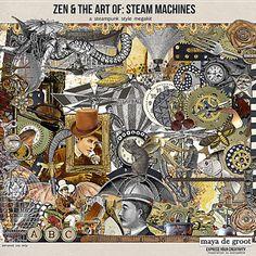 Zen & the Art of Steam Machines @ Oscraps