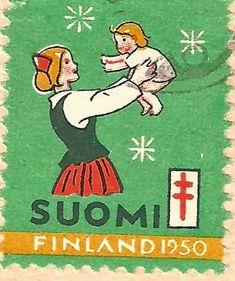 Kirjeitä myllyltäni: Joulumerkkejä ja vähän muitakin Postage Stamps, Finland, Nostalgia, Baseball Cards, Comics, Retro, Mozzarella, Fictional Characters, Christmas