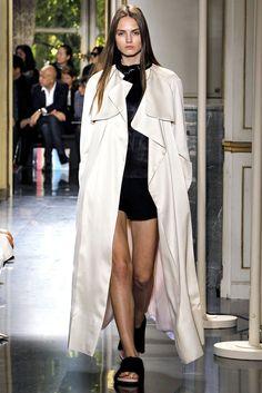 Céline Spring 2013 Ready-to-Wear Fashion Show - Agne Konciute (Next)