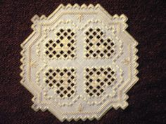 Hardanger Centerpiece Custom Crafted by MnMom23 on Etsy