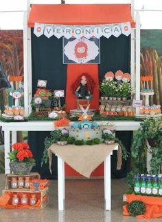 Brave + Merida themed birthday party