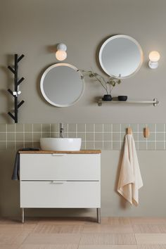 Bathroom interior design 862369028627478070 - Minimal bathroom with neutral colours from IKEA new catalogue Source by gbuissonneaud Interior Ikea, Interior Simple, Bathroom Interior Design, Home Interior, Interior Decorating, Cheap Rustic Decor, Cheap Home Decor, Home Decoration, Bad Inspiration