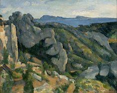 Paul Cézanne - Rochedos em L'Estaque - 1882-1885 - MASP, São Paulo.