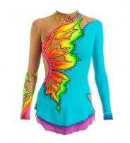 Complex Rhythmic Gymnastics Leotards for Performance and Competition