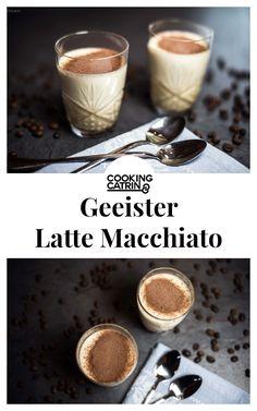 Kaffee Dessert Rezept. Rezept für ein raffiniertes Dessert mit Kaffeegeschmack. Geeister Latte Macchiato im Glas ein einfaches aber sehr raffiniertes Dessert. Schnell vorbereitet und ein großer Genuss.