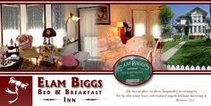 A beautiful Victorian Bed and Breakfast: Elam Biggs.