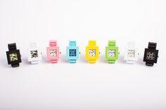 Colours, imagination, creativity: Nanoblock Time watches. http://tribeatwork.com/en/nanoblock/