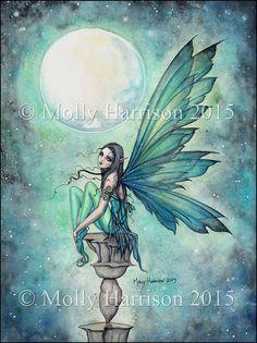 Winter Dream Moon by Molly Harrison