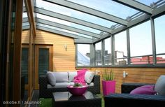 Roof terrace / Kattoterassi