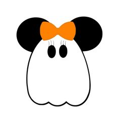 Personalized Ghost Mickey OR Minnie Mouse DIY Iron on Decal. $7.00, via Etsy.